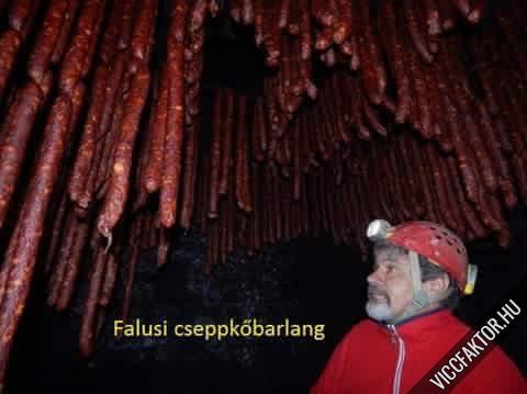 Falusi cseppkőbarlang