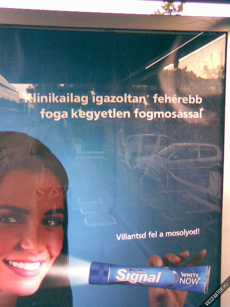 Módosított reklám