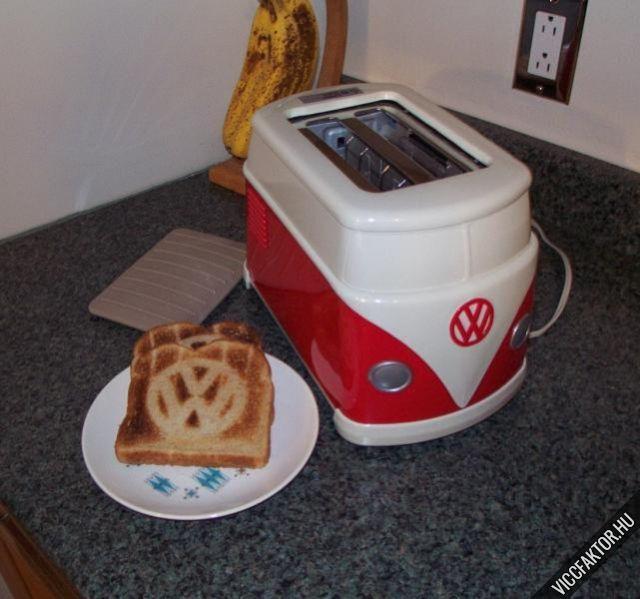 VW kenyérpirító