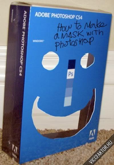 Hogyan készítsünk Photoshop maszkot