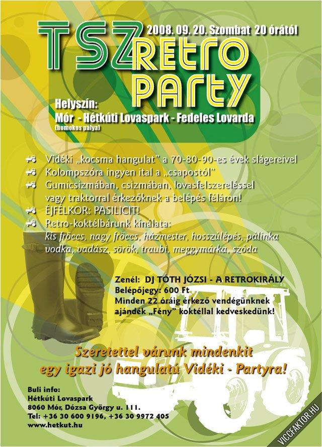 TSZ retro party
