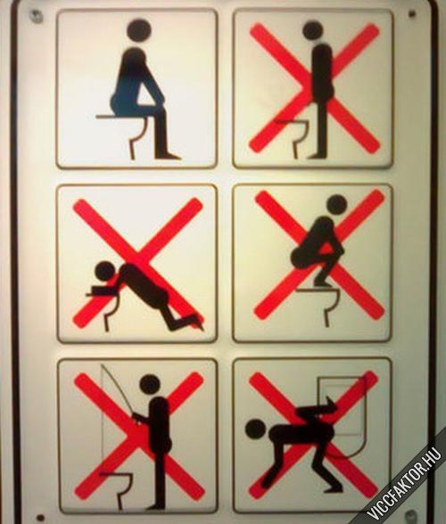 Japán toalettszabályok