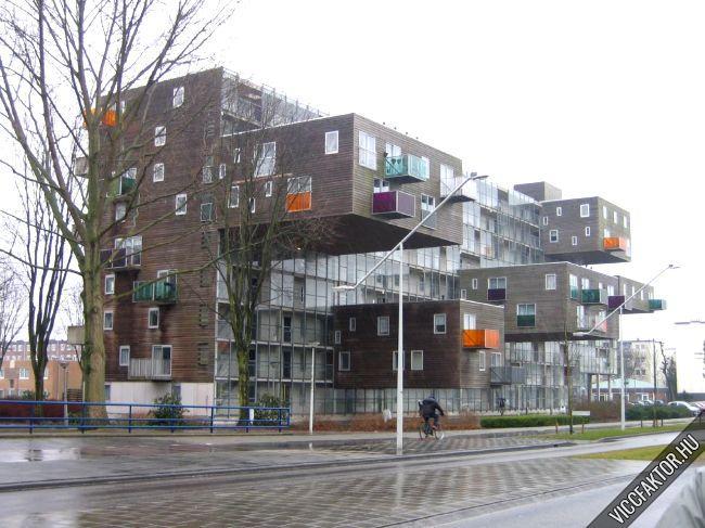 Egy ház Amsterdamban
