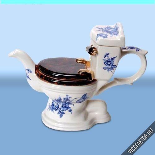 Toalett-tea