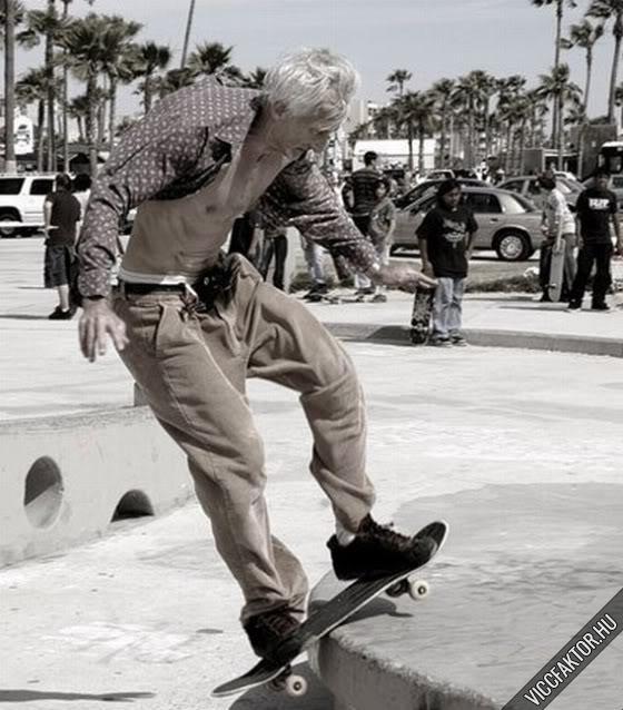 Öregember nem vénember…