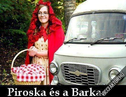 Piroska és a Barkas