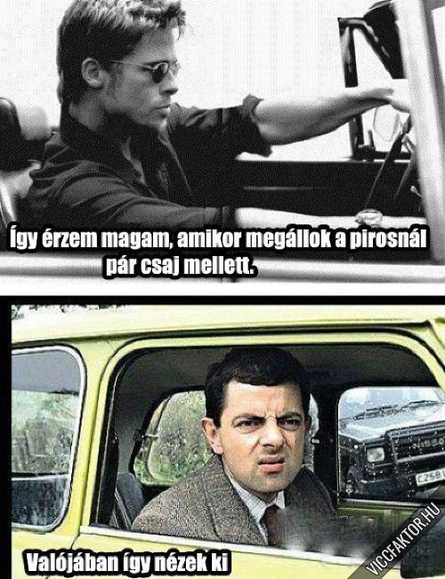 Sofőrnek lenni ilyen érzés