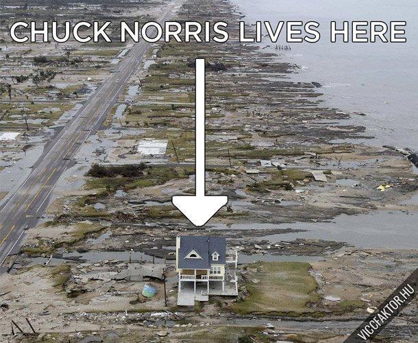 Chuck Norris háza