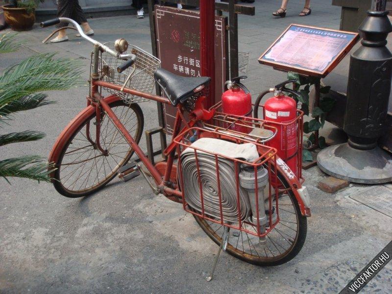 Tűzoltó kerékpár