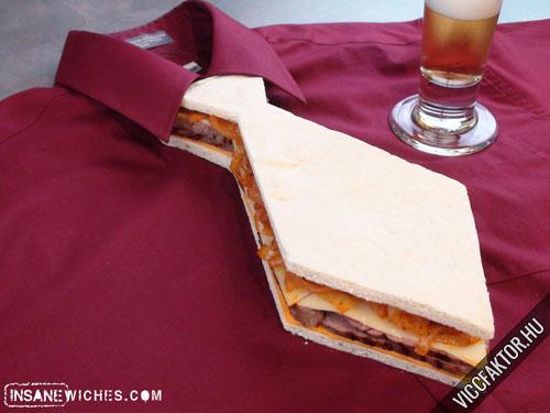 Nyakkendő szendvics