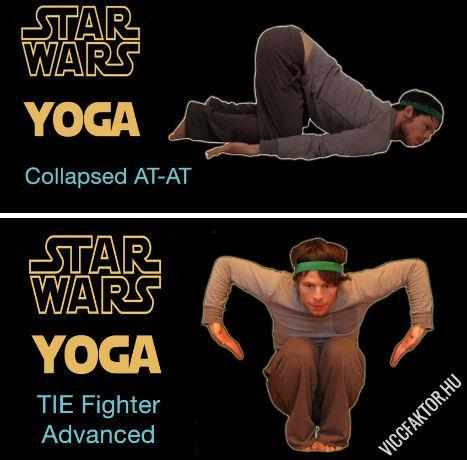 Star Wars jóga #2