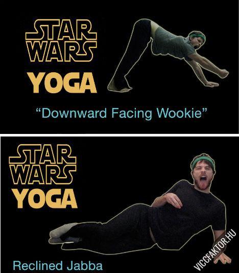 Star Wars jóga #3