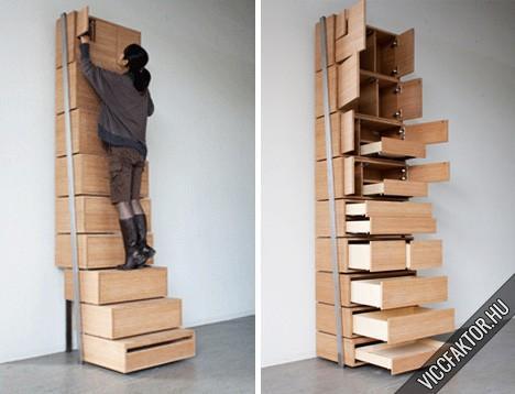 Fiókos szekrény