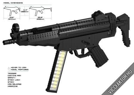 Lego fegyverek #5