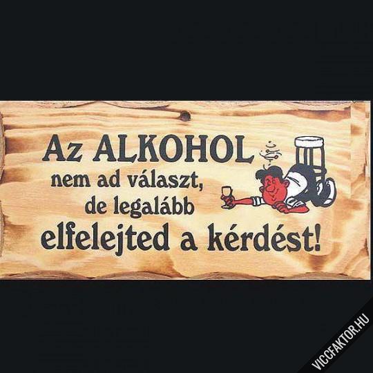 vicces idézetek az alkoholról Alkohol és a problémák   Vicces képek | ViccFaktor