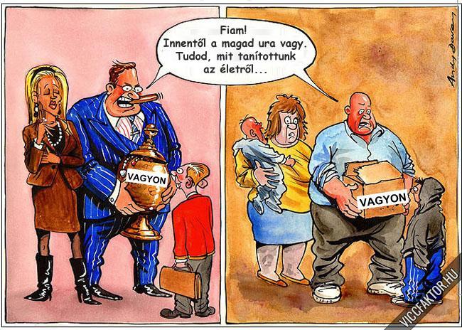 Gazdagok vagy szegények