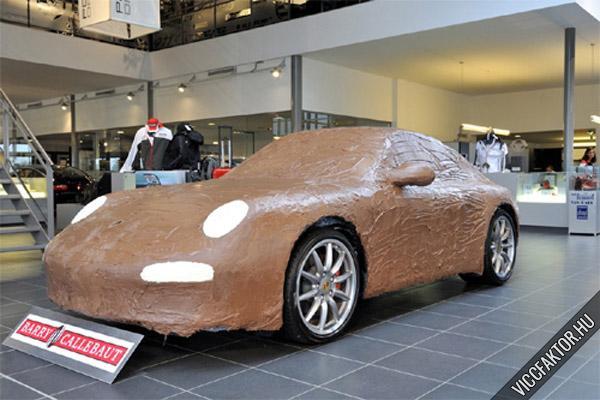 Porsche csokiból #1