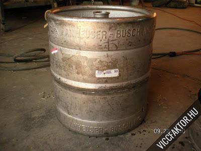 Hogyan modoljunk meg egy sörhordót? #2