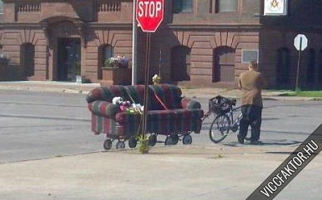 Kanapé szállítás