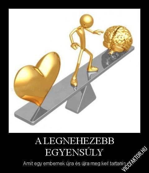 A legnehezebb egyensúly