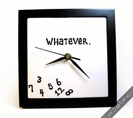 Érdekes, megvásárolható órák #5