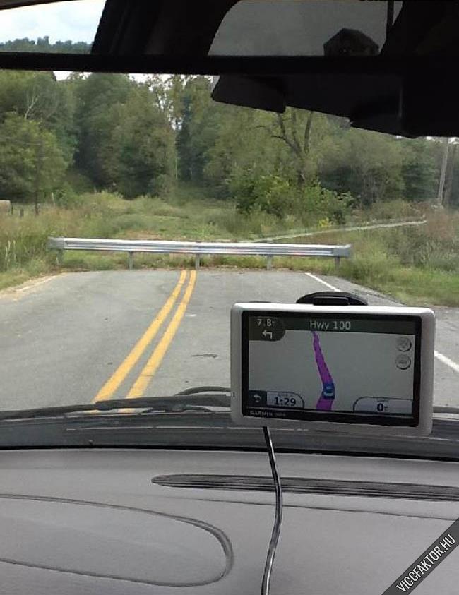 Ha nincsen esze, legyen GPSe