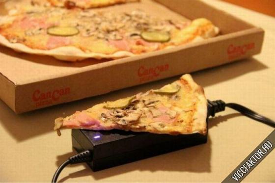 Pizza melegítő…