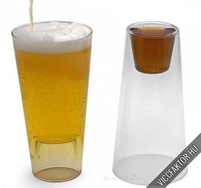 Kétfunkciós pohár