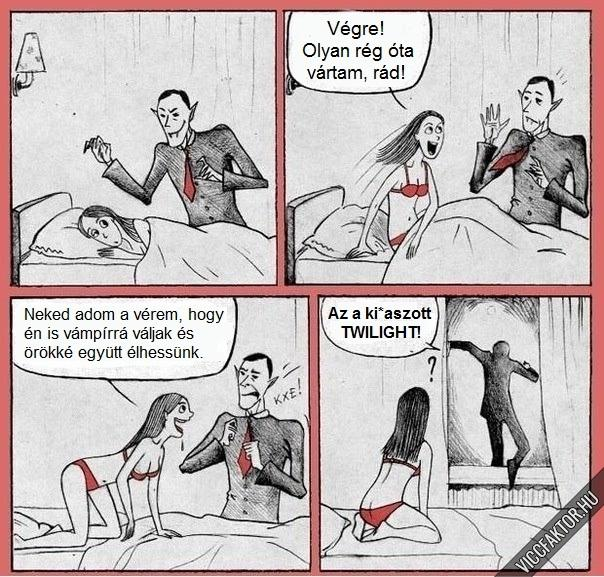 A Twilight hatása