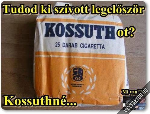 Kossuthné