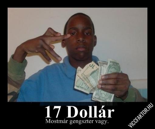 17 dollár