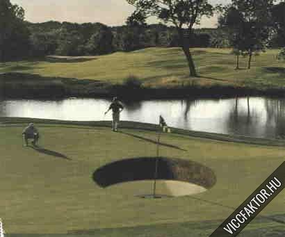 A golf nehézségei