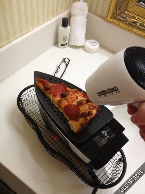 Ha kihűlt a pizza – Kolesz verzió
