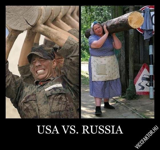 USA vs. Oroszország