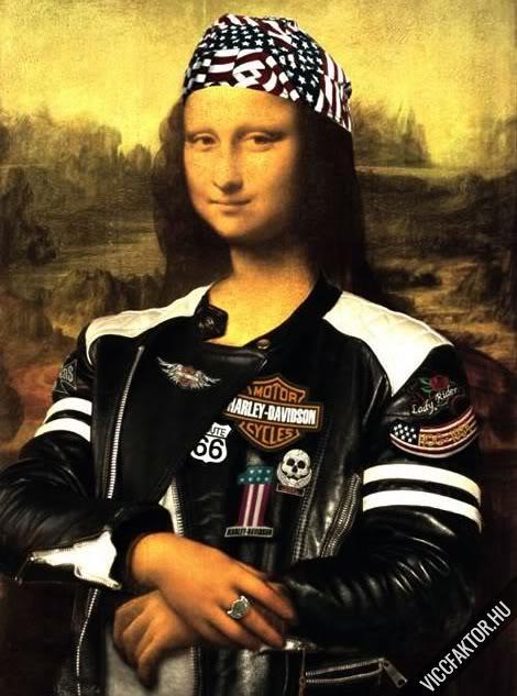 Mona Lisák #14