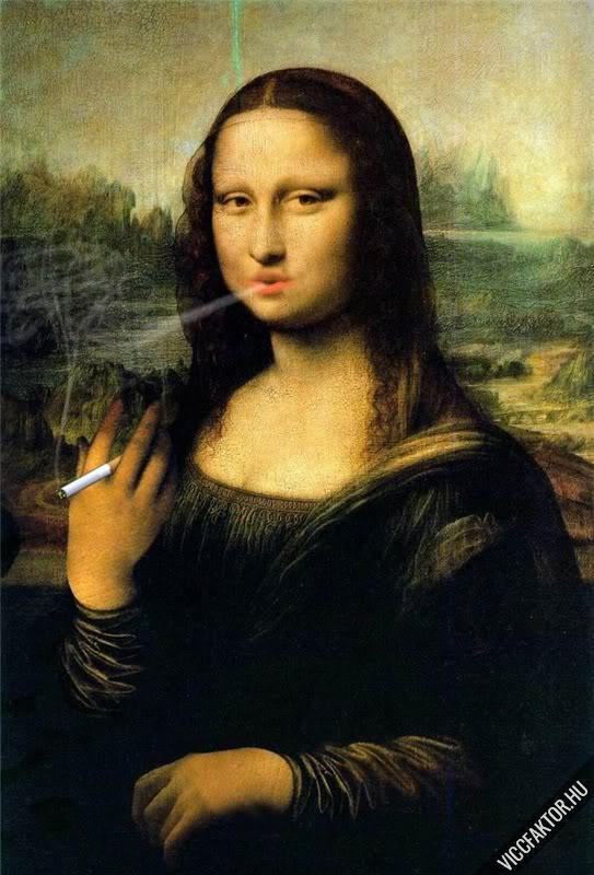 Mona Lisák #18