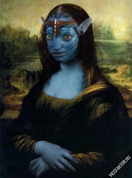 Mona Lisák #8