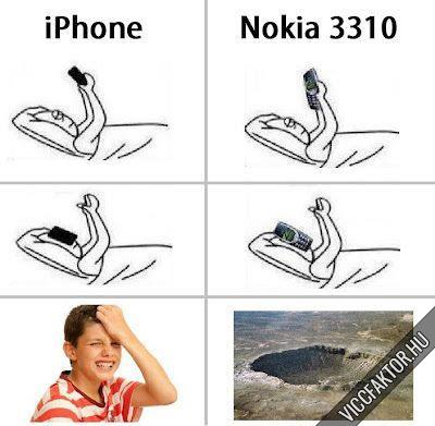 IPhone vs. Nokia 3310