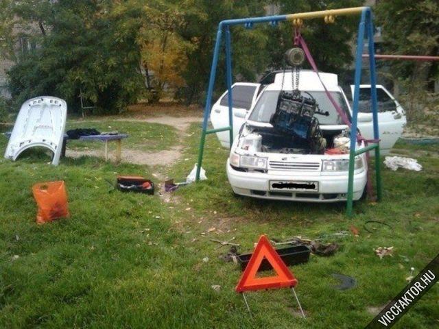 Autószerelés