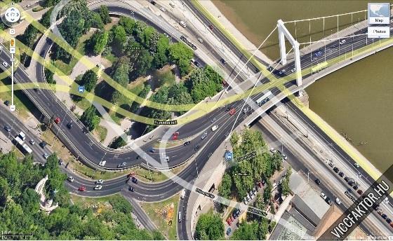 Erzsébet híd fail
