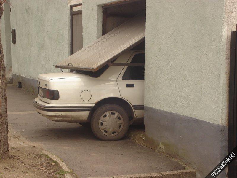 Ha rövid a garázsod,...