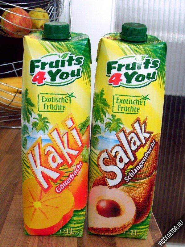 Egzotikus gyümölcsital Németországból