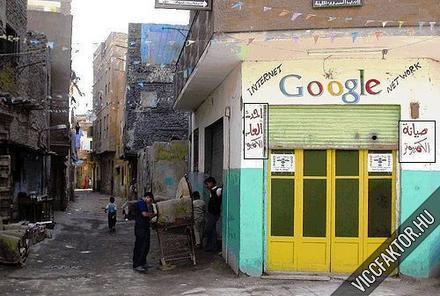 Google Arab irodája