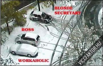 Ki hogyan parkol?