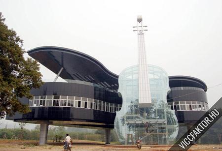 Zenészeknek új épület