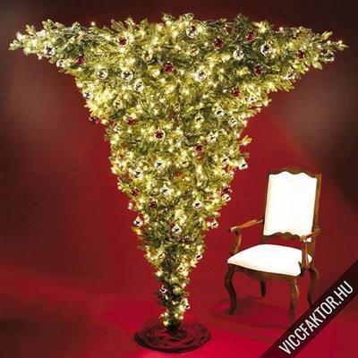 Karácsonyfa ötlet