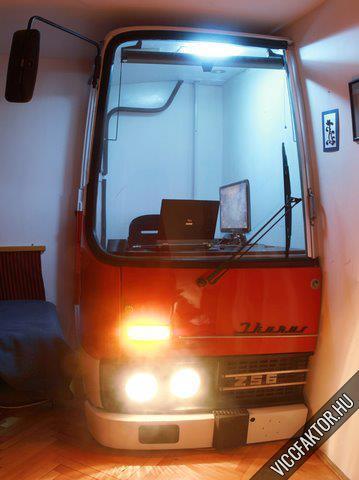 A buszsofőr, aki hazavitte a munkáját