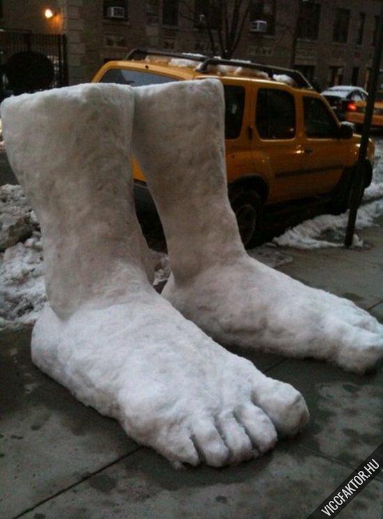 Óriás lábak