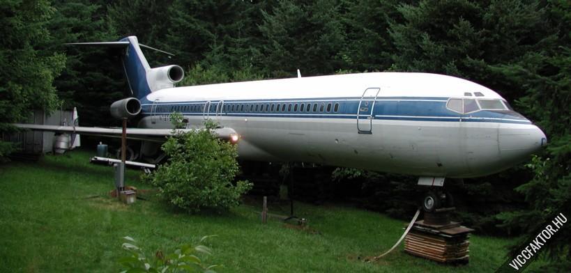 Boeing a kertben