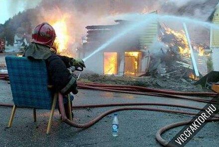 Kényelmes tűzoltás